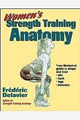 Women's Strength Training Anatomy Paperback