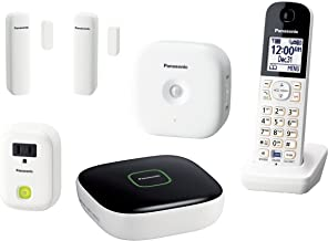 Panasonic KX-HN6003W Smart Home Monitoring System Home Monitoring and Control Kit (White)