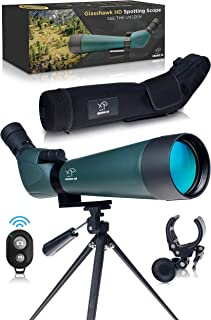 CREATIVE XP HD Spotting Scope with Tripod 20-60x80mm – BAK 4 Prism Spotting Scopes..