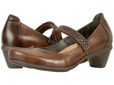 Naot Forward (Pecan Brown Leather/Walnut Leather) Women