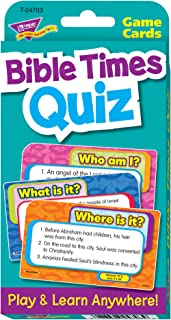 TREND enterprises, Inc. Bible Times Quiz Challenge Cards