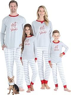 matching winter pajamas