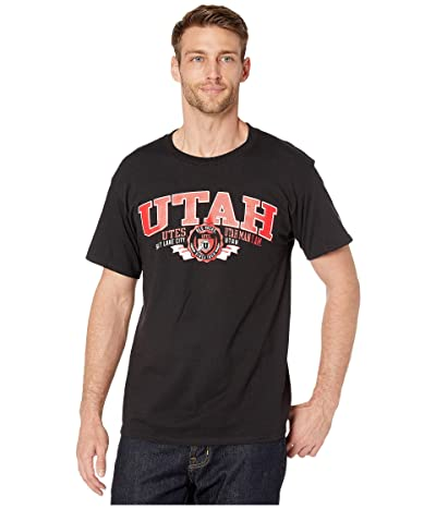 Champion College Utah Utes Jersey Tee (Black) Men