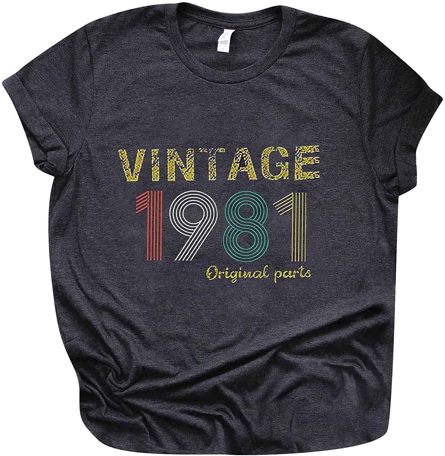 Shan-S 50th Max 90% OFF Birthday Outlet SALE Gift T Shirt Women Origina 1971 Vintage for