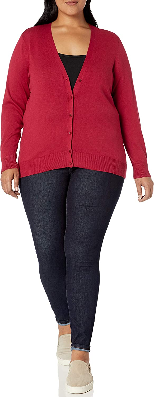 Amazon Essentials Women's Plus Size Lightweight Cardigan Sweater