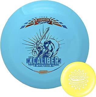 Innova Disc Golf Tour Series Ellen Widboom Star Xcaliber Distance Driver 173-175g with Stars Stamp Innova Mini (Colors Will Vary)