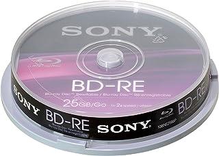 Sony 10BNE25SP wiederbeschreibbar 25GB Blu Ray Disc (10er Spindel)
