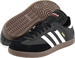 info for 4cb51 50ac4 Adidas originals samba black white  Shipped Free at Zappos