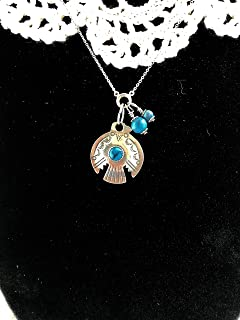 Thunderbird Necklace with Turquoise