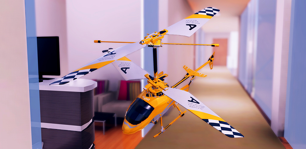Real RC Helicopter Flight Simulator