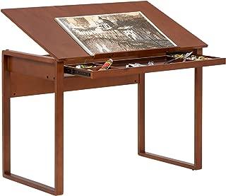 Studio Designs Ponderosa Wood Topped Table in Sonoma Brown 13285