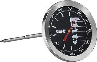 GEFU GE21880 Thermomètre de Cuisson Métal Inox 8,19 x 7,5 x 19,3 cm