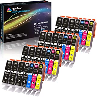 Arthur Imaging Compatible Ink Cartridge Replacement for Canon Pgi-250Xl CLI-251XL for Use..
