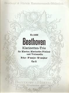 Klarinetten-trio Fur Klavier, Klarinette (Violine) Und Violoncell - B-dur/ Bb Major / Sib Majeur - Op. 11 - Nr 1066