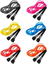 Garage Fit 9' Adjustable PVC Jump Rope for Cardio Fitness - Versatile Jump Rope for Both Kids and Adults - Great Jump Rope for Exercise