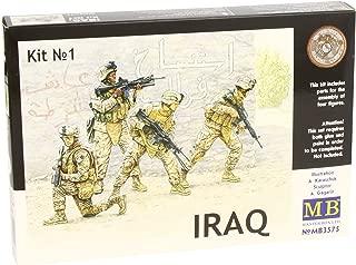 Master Box USMC Soldiers Iraq Set # 1 (4) Figure Model Building Kits (1:35 Scale)