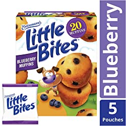 Entenmann's Little Bites Blueberry Muffins, 20 Count