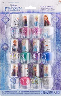 Frozen 12 Piece Nail Polish Set with Bonus Nail Files, 14 CT