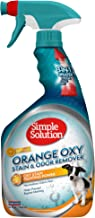 Simple Solution Oxy Charged Pet Stain and Odor Remover   Eliminates Pet Stains and Odors with 3X Cleaning Power