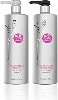 Kenra Platinum Color Charge Shampoo and Conditioner Set, 31.5-Ounce