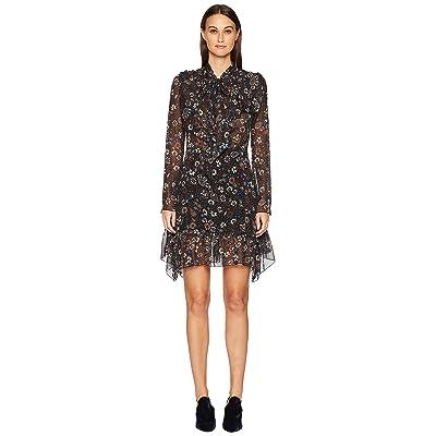 See by Chloe Paisley Print Dress (Multicolor Black) Women