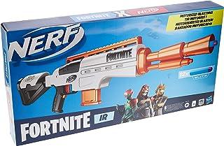 Nerf Fortnite IR-blaster gemotoriseerd - Fortnite-blaster met darts - Afneembaar magazijn voor 6 darts, 12 officiële Nerf ...