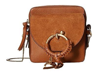 See by Chloe Joan Mini Camera Bag (Caramello) Shoulder Handbags