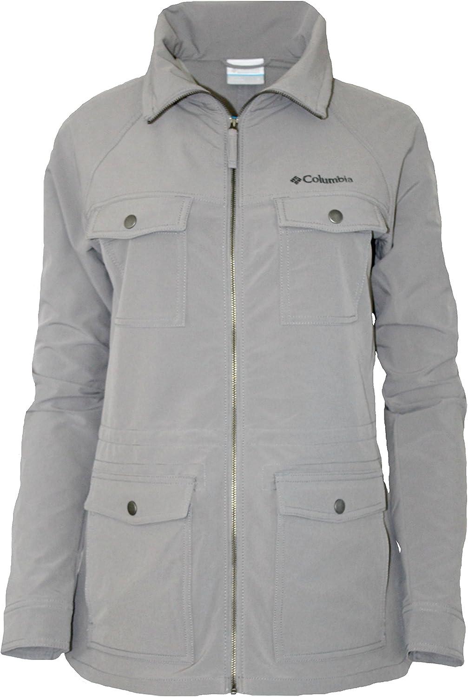 Columbia Women's Phoenix Park Soft Shell Water Resistant Full Zip Jacket