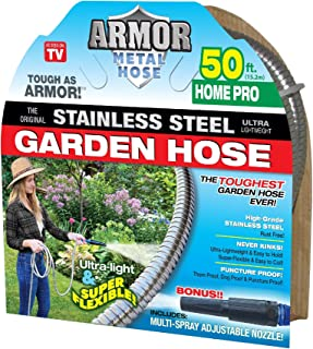 Stainless Steel Metal Hose (50' Armor Home Pro)