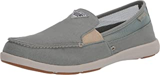 حذاء Delray II بدون كعب PFG نسائي بدون كعب من Columbia PFG ، لون أرجواني فاتح/شوفان فاتح، مقاس 11 عادي US