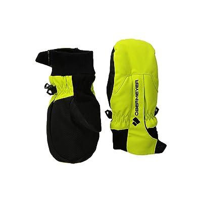 Obermeyer Kids Thumbs Up Mitten (Little Kids/Big Kids) (Green Flash) Extreme Cold Weather Gloves