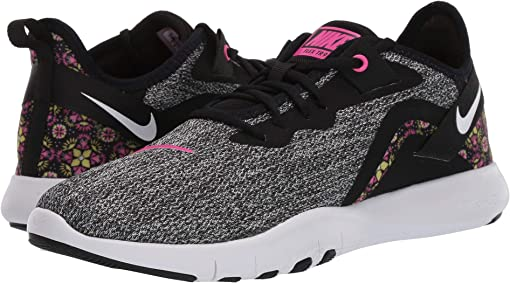 Black/White/Laser Fuchsia