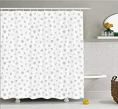 Kenneth Camilla Cryptocurrency Theme Shower Curtain, Waterproof Bath Curtain for Master Bathroom, Kid's Bathroom, Guest Bathroom,72 x 84 Inches