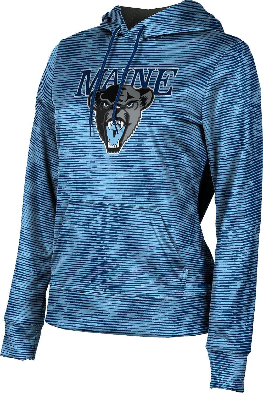 ProSphere University of Maine Girls' Pullover Hoodie, School Spirit Sweatshirt (Velocity)