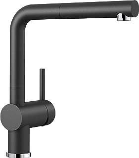 Blanco 铂浪高Linus-S 厨房龙头, 沥青黑, 516688