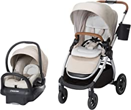 Maxi-Cosi Adorra 2.0 5-in-1 Modular Travel System with Mico Max 30 Infant Car Seat, Nomad Sand
