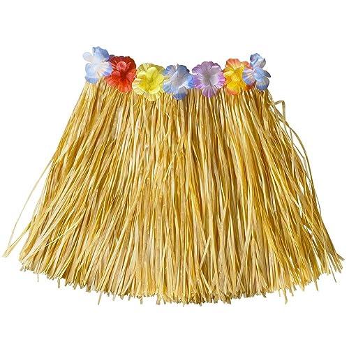Hawaiian PALM LEAF SKIRT Fancy Dress Costume Grass Skirt Luau Summer Beach UK