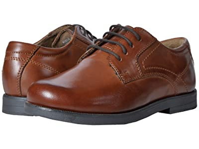 Florsheim Kids Midtown Plain Ox, Jr. (Toddler/Little Kid/Big Kid) (Cognac) Boys Shoes