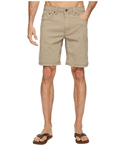 Prana Brion 9 Short (Dark Khaki) Men