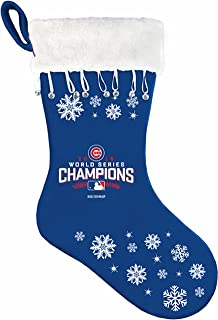 Boelter MLB Chicago Cubs 2016 World Series Champions Stocking