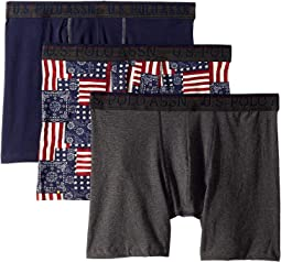 Blue Collection 3-Pack Stretch Boxer Brief