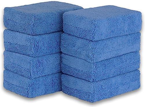2021 Simple Houseware 8 Pack - Microfiber Ultra-Soft outlet sale Applicator wholesale Foam, Blue online