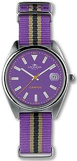 Mondia Campus Womens Analog Japanese Quartz Watch with Nylon Bracelet MI729-3CT