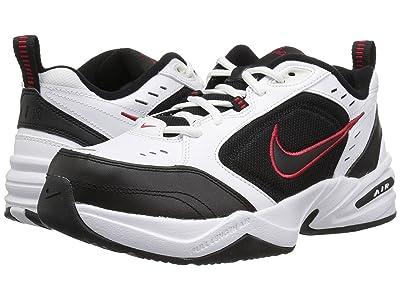 Nike Air Monarch IV (White/Black-Varsity Red) Men