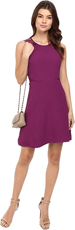 Textured Dot Dress KS0K7242