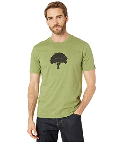Prana Tree Hugger Journeyman T-Shirt (Matcha Heather) Men