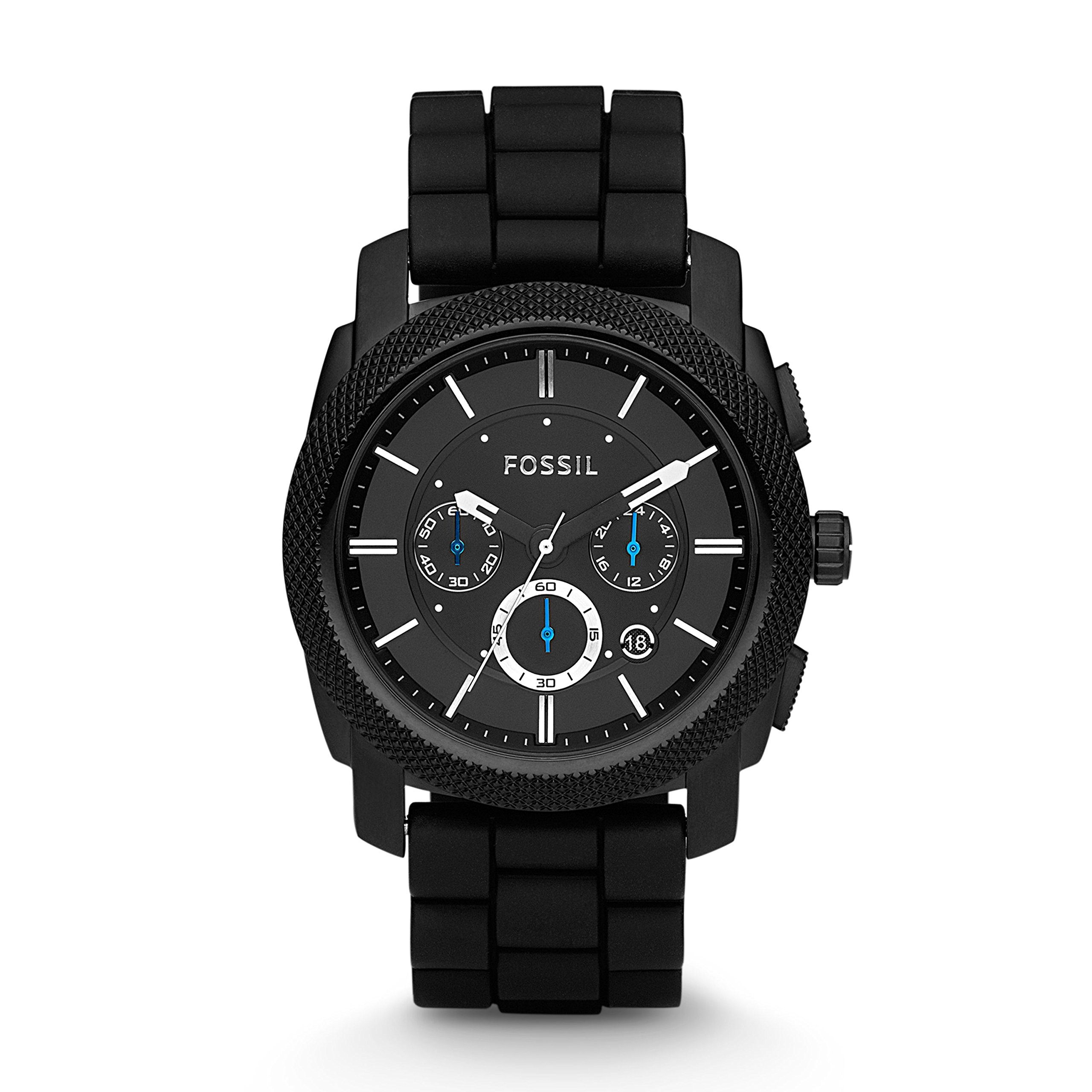 Fossil Machine Stainless Silicone Chronograph
