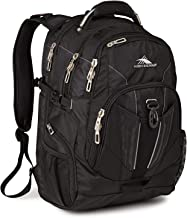 High Sierra XBT TSA Laptop Backpack - Ideal for High School and College Students - Fits Most 17-inch Laptop Models, Black