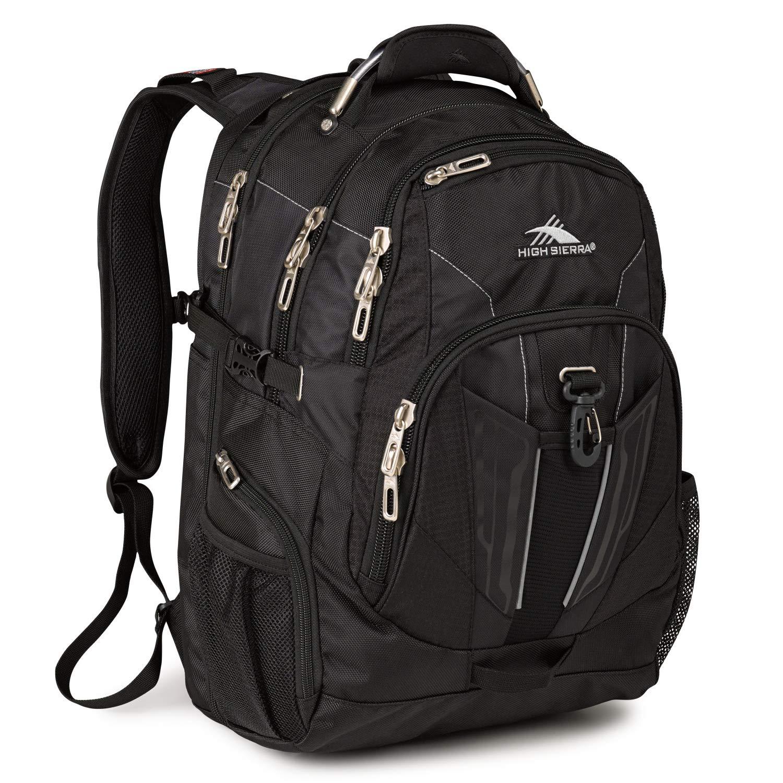 High Sierra Laptop Backpack Black