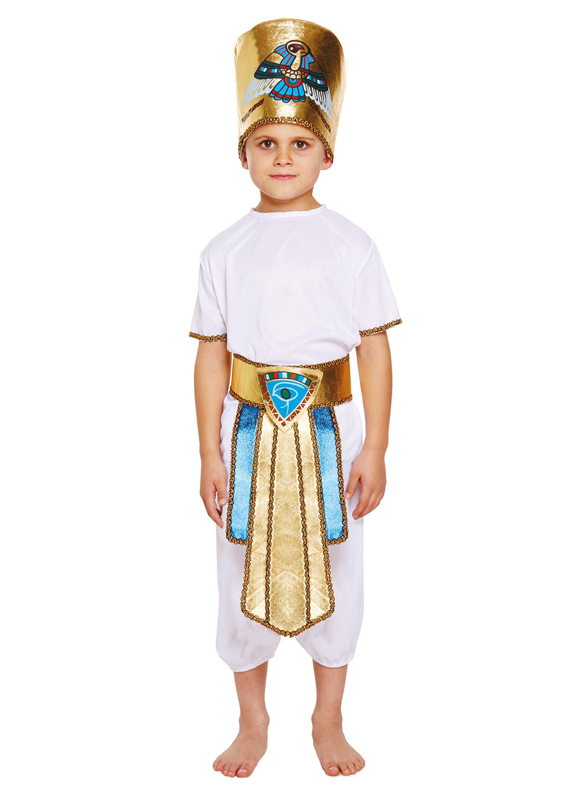Disfraz infantil EGIPCIO NIÑO GRANDE 10-12 AÑOS: Amazon.es ...